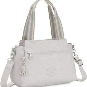 Kipling Elysia Crossbody Handbag Curiosity Grey.